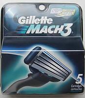Картриджи Gillette Mach3 DLC, 5 штук в упаковке, фото 1