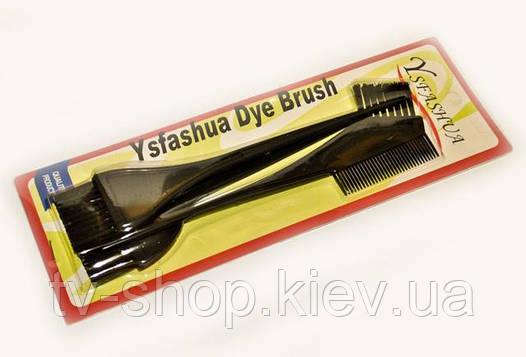 Набор кисточек для окрашивания волос, 3 шт.