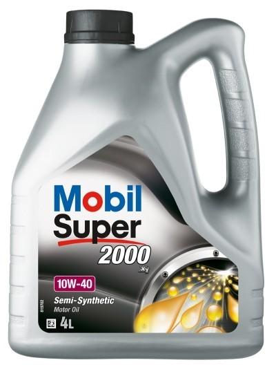 Полусинтетическое моторное масло mobil