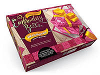 Набор для творчества шкатулка EMBROIDERY BOX EMB-01-07 Danko Toys
