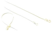 Стяжка нейлоновая Сталь 65003 2.5х200 мм белая (42653) (100 шт./уп.)