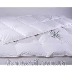 Пуховое одеяло 90%пуха 10%пера полуторка 140*220