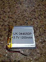 Батарея для автонавигаторов 044050P (50*45*3 мм), (Li-Polymer 3.7V 1200мАч)