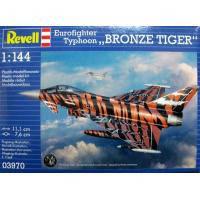 Сборная модель Revell Истребитель Eurofighter Bronze Tiger 1:144 (3970)