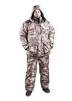 Зимний костюм, атакс серый