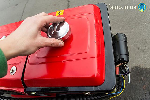 Дизельный мотоблок Победит 121 ДЕ с электростартером фото 4