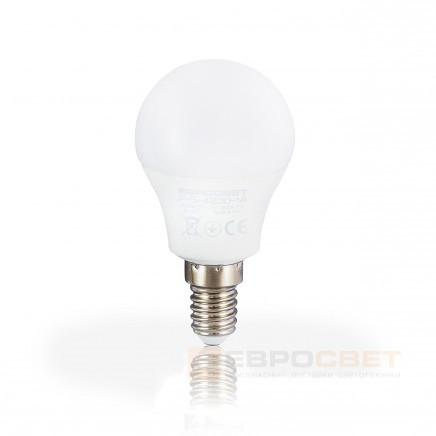 Светодиодная лампа Евросвет Р-5-4200-14 5W 4200K E14 220V