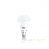 Светодиодная лампа Евросвет R39-3-3000-14 3W 3000K E14 220V