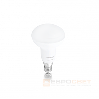 Светодиодная лампа Евросвет R50-5-3000-14 5W 3000K E14 220V , фото 1