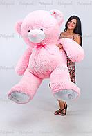 Большой плюшевый мишка, медведь Томми 200см розов