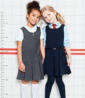 Школьные сарафаны и юбки английских брендов George, M&S, F&F.