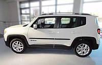 Боковые молдинги на двери для Jeep Renegade 2014>, заказ № F-2