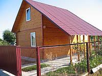 Каркасный дом 6х5.Киевская область.