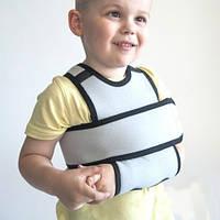 Бандаж повязка фиксирующий Дезо Серый детский Размер- 1,2 Алком 3011k