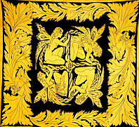 Покрывало желтое Четыре Феи