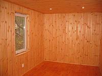 Вагонка внутри дачного дома 5х3 интерьер.