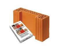 Керамический блок Wienerberger Porotherm 38 Ti K 1/2 Profi 380/125/249