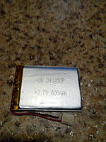 Батарея для автонавигаторов   043450P (50×35×3 мм), (800mAh)