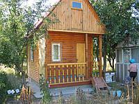 Деревянный домик 5х3.
