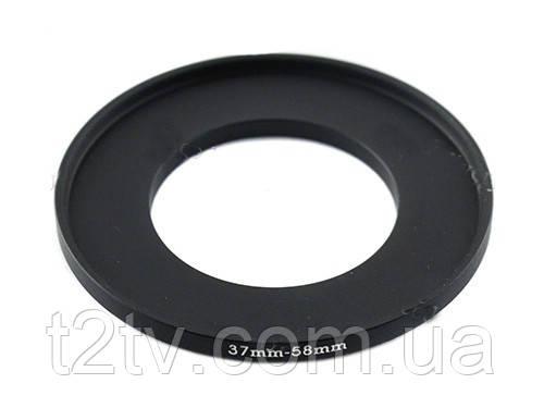 Повышающее степ кольцо 37-58мм для Canon, Nikon