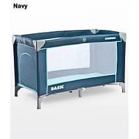 Манеж Caretero Basic - navy, кроватка-манеж + сумка переноска
