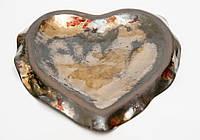 Блюдце, художественная керамика, фото 1