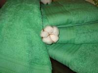 Полотенце  для сауны (цвет зеленый)