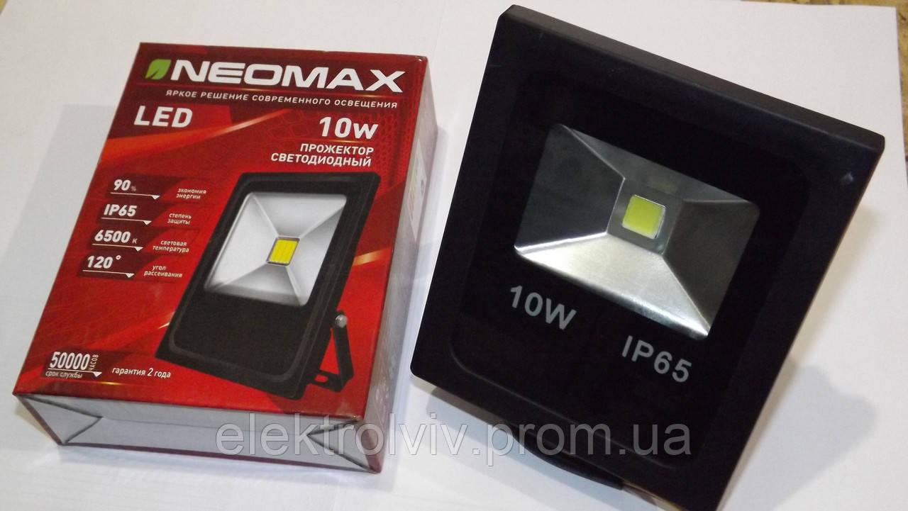 Прожектор светодиодный LED 10W NEOMAX