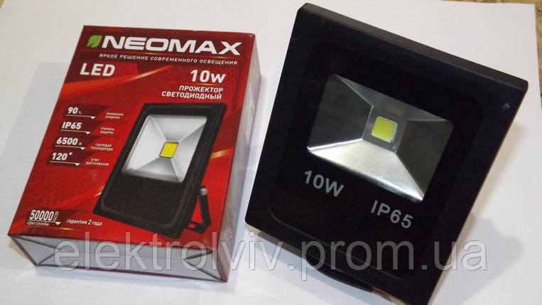 Прожектор светодиодный LED 10W NEOMAX, фото 2