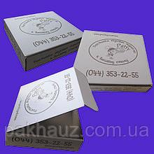 Коробка картонная для пирогов