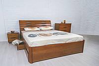 """Двуспальная кровать""""Марита  ЛЮКС"""" с ящиками, фото 1"""