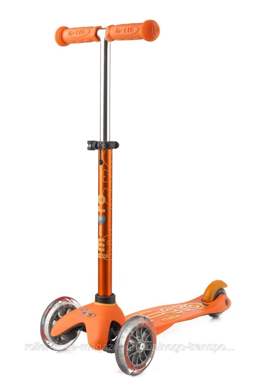 Самокат Mini Micro Deluxe Orange