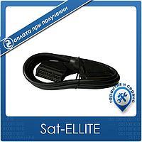 Шнур SCART (E-E, 21pin) 1.2 м