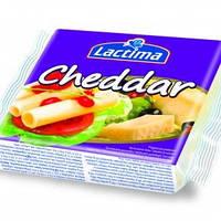Сыр Лактима Чеддер плавленый нарезанный