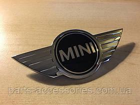 Емблема значок на капот Mini Cooper S Hardtop R56 2007-13 новий оригінальний