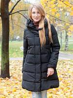 Куртка-пальто с потайной застежкой и карманами на змейках