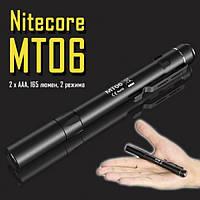Фонарь Nitecore MT06 (Сree XQ-E R2, 165 люмен, 2 режима, 2хAAA)