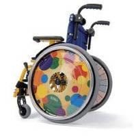 Детская специальная лёгкая складная инвалидная коляска KID 1