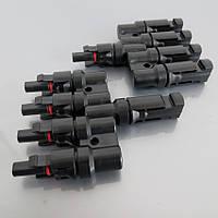 Набор коннекторов MC4 для соединения 4 солнечных батарей в параллель
