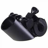 Универсальное велосипедное крепление для фонарей и лазеров (15 - 30mm)