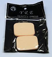 Спонжики желтые 2 шт в упаковке SP-01 YRE