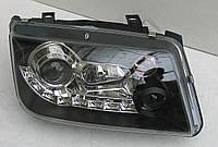 Volkswagen Bora оптика передняя черная