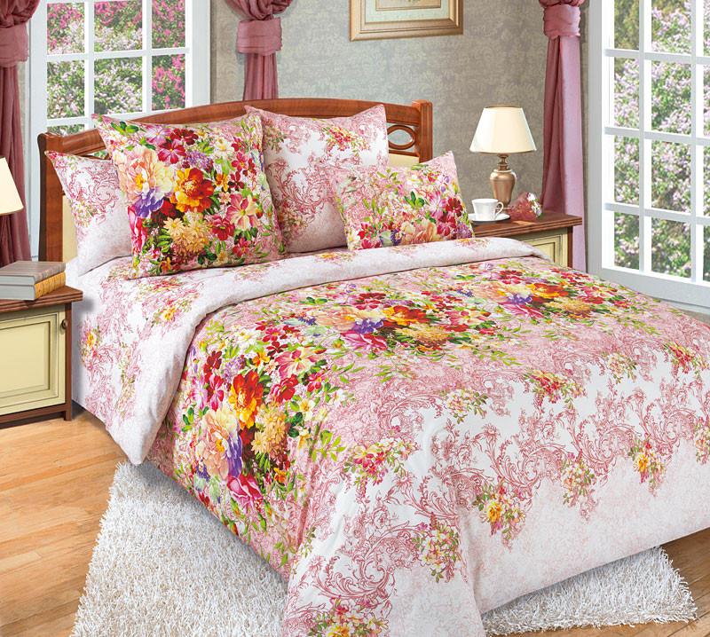 Комплект постельного белья двуспальный, бязь Эликсир