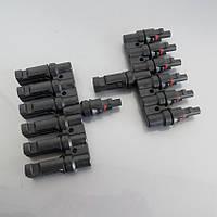 Набор коннекторов для соединения 6 солнечных батарей в параллель