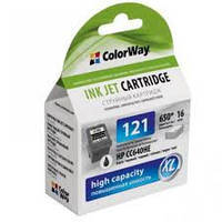 CW HP 121BK/121C Black/Color Combo Pack