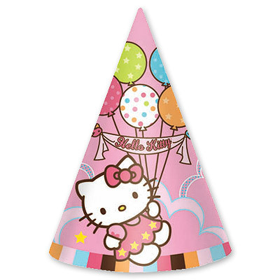 Колпак Hello Kitty 8 шт