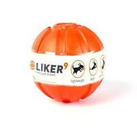 Мячик ЛАЙКЕР диаметр 9 см. Игрушка для мотивации собак