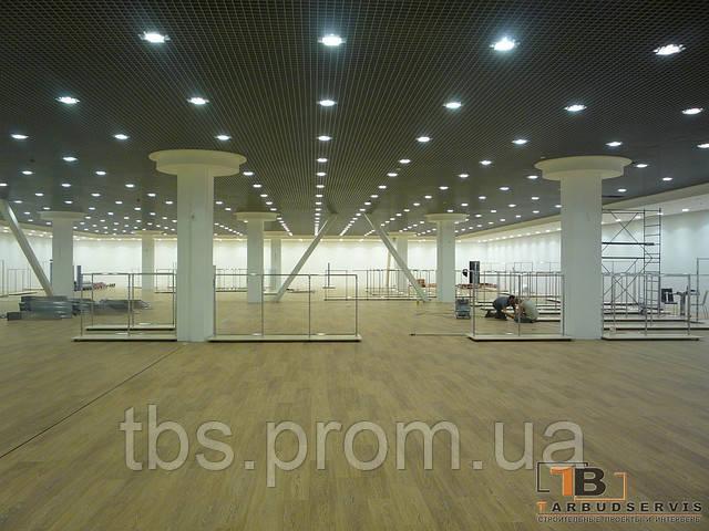 Ремонт торговых помещений в ТЦ Sky Mall - GROUP-TB.COM.UA в Киеве