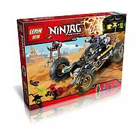 """Конструктор LEPIN 06032 (аналог Lego Ninjago 70589) """"Горный внедорожник"""" 443 дет"""