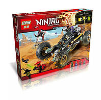 """Конструктор LEPIN 06032 (реплика Lego Ninjago 70589) """"Горный внедорожник"""" 443 дет"""